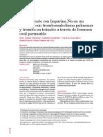 Tratamiento con heparina Na en un paciente con tromboembolismo pulmonar y trombo en tránsito 2013.pdf
