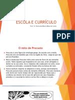 Escola e Currículo
