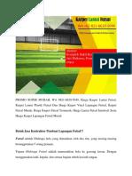 PROMO SUPER MURAH, Karpet Lantai Futsal, WA 0821-8620-5040