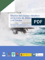 Efectos Del Cambio Climático en La Costa de ALC