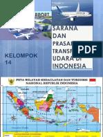 Sarana Dan Prasarana Transportasi Udara Di Indonesia