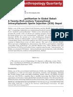 Inhorn (2016) Medical Cosmopolitanism in Global Dubai a Twenty-first-century Transnational Intracytoplasmic Sperm Injection (ICSI) Depot