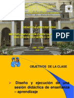 Microplanificacion Curricular - Diseño de Una Sesion Didactica o de Aprendizaje