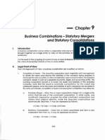 355403684 09 Business Combinations Statutory Mergers Consolidations