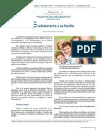 05 Simposio Medicina Del Adolescente El Adolescente y Su Familia Dr Juan Carlos Lengua Sanchez Final PDF