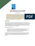 Introduction to Java RMI
