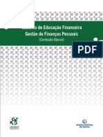Caderno de educação financeira pessoais