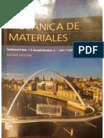 Libro de MECÁNICA DE MATERIALES