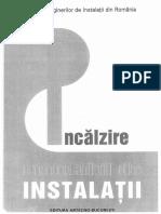 Manualul instalatorului INCALZIRE