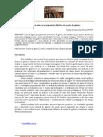 reflexoes sobre a transposição didatica da noção de genero