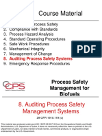 08. Auditing PSM Systems