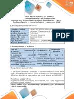 Guía de Actividades y Rúbrica de Evaluación - Fase 1 - Realizar El Punto 1 Conceptualización Reglamentos UNAD