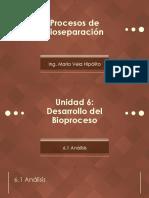 [PBIO] Unidad VI - Diseño Del Bioproceso
