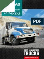 Kremenchug Automobile Plant (AvtoKraz) Trucks Lineup