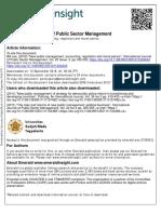 New Public Management, Accounting, Regulators and Moral Panics