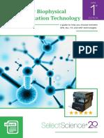Biophysical Characterization Technology