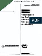 021-AWS A5.13 (2000) Spec for Surfacing Elecvtrodes SMAW
