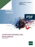 Lirica de Cancionero-Panorama General Esquema