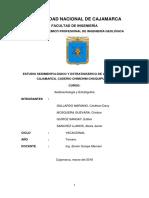 Estratigrafía Proyecto Fm Cajamarca