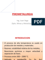 Clase Pirometalurgia