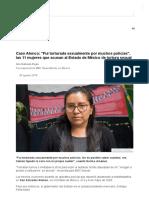 Caso Atenco_ _Fui Torturada Sexualmente Por Muchos Policías_, Las 11 Mujeres Que Acusan Al Estado de México de Tortura Sexual - BBC News Mundo