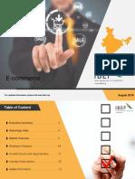E Commerce Report August 2018