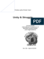 Unity and Struggle Vol 36