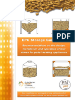 Recommendations for Storage of Wood Pellets