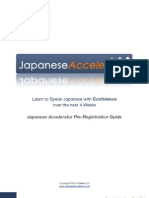 Japanese Accelerator
