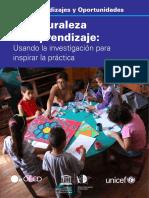 UNICEF UNESCO OECD Naturaleza Aprendizaje