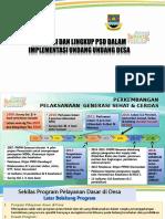 PB 1. Kebijakan PSD Dlm Implementasi UU Desa