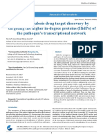 Anti-tuberculosis drug target discovery by  targeting the higher in-degree proteins (HidPs) of the pathogen's transcriptional network