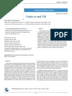 Unite to end TB
