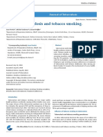 Tuberculosis and Tobacco Smoking.