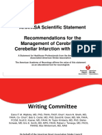 Management of cerebellar