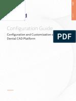 Exocad DentalCAD Configuration Guide DentalCAD Platform En