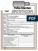 Police Report Print