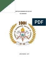 Regulamento Do Bombeiro de Aço 2017-SENABOM