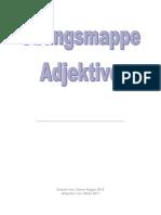 Adjektiv Mappe Neu