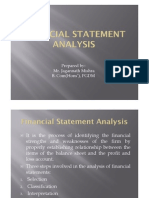 Financial Statement Analysis Final