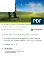 Our Journey Preparing for the GDPR