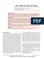 The Evolving Role of CD4 Cell Counts in HIV Care