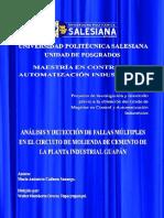 Analisis Fall Molino Cemento UPS-CT007055