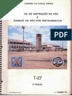Manual de Instrução de Voo IFR - T27 TUCANO