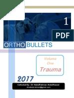 Ortho Bullets Volume One Trauma 2017