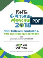 Puntos Culturales 2018
