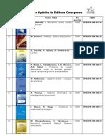 Carti Universitare Tiparite Intre Anii 2008-2016