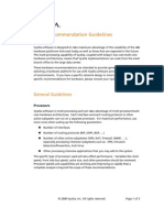 Vyatta Hardware Guidelines 2008-12-03
