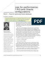 Best Practices for Performance- Tuning SAP R3 and Oracle Database