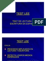 test lee